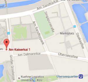 Lage Büro Hafencity 2