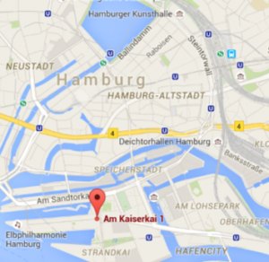 Lage Büro Hafencity
